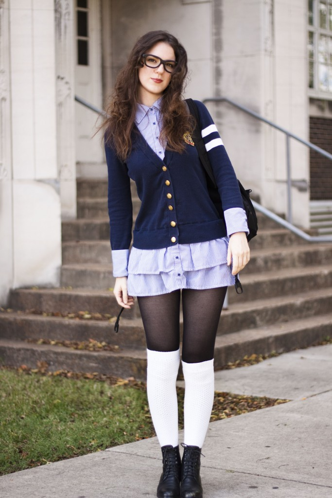 Outfit Of The Week Schoolgirl The Lady Nerd