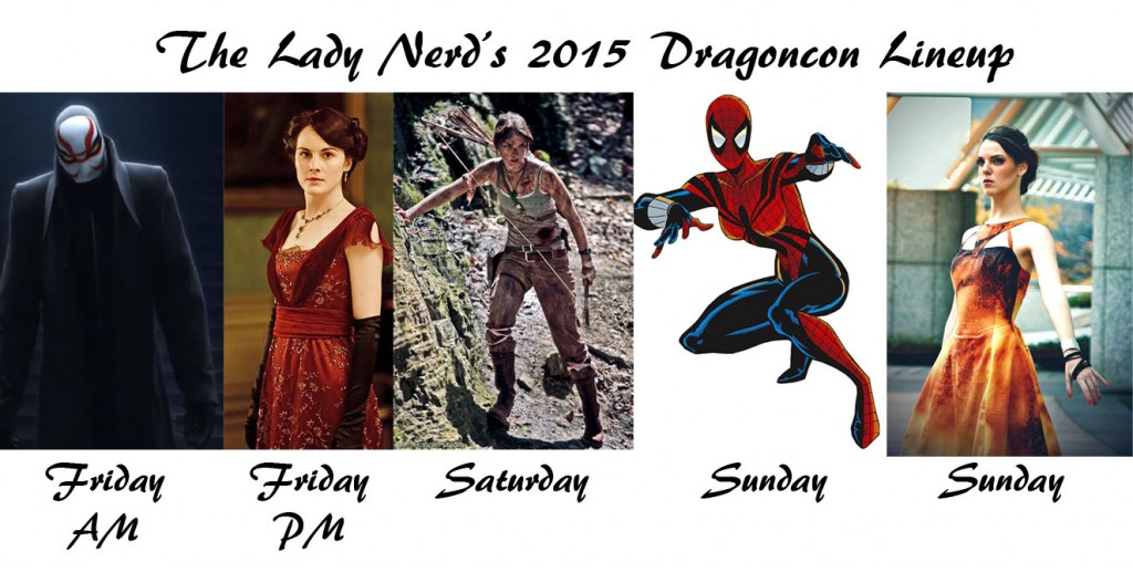 The Lady Nerd Dragoncon 2015