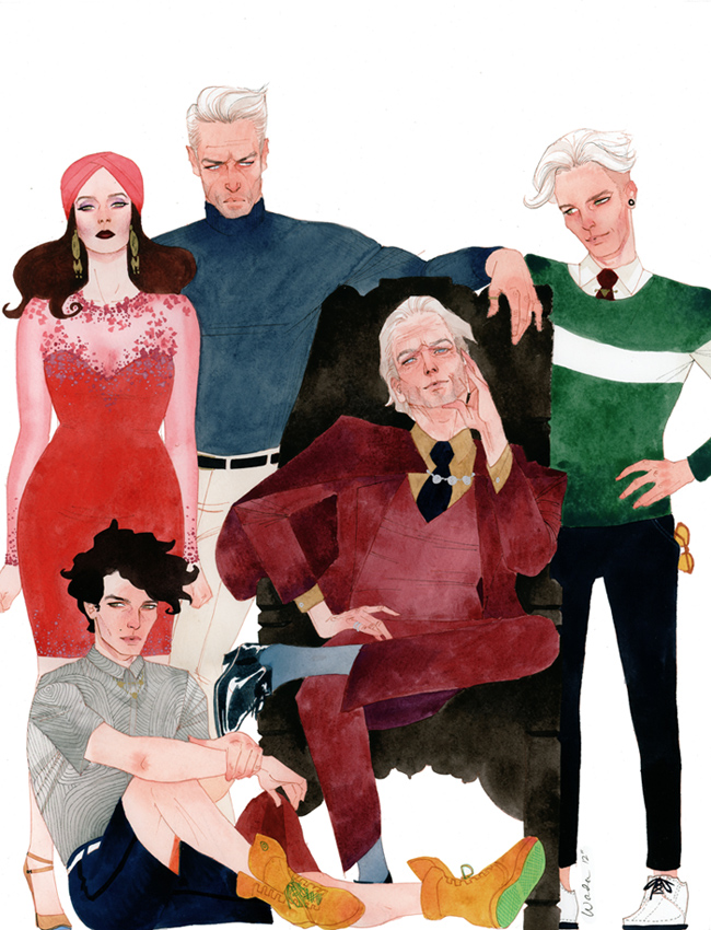 Kevin Wada Magneto's Family