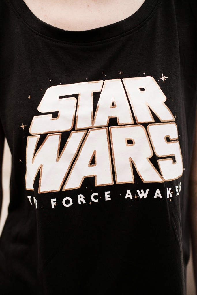 Star Wars the force awakens tshirt