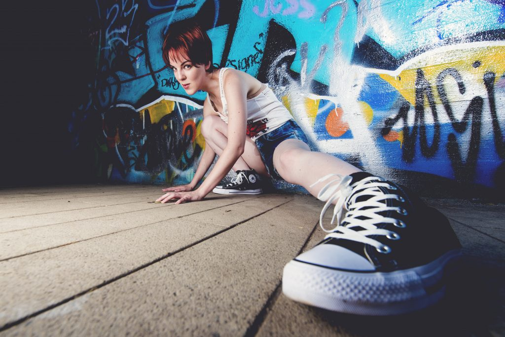 fashion spidergirl converse