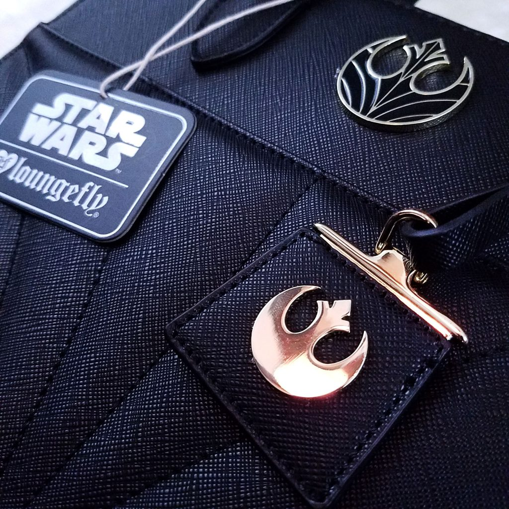 Loungefly The Last Jedi Bag Detail