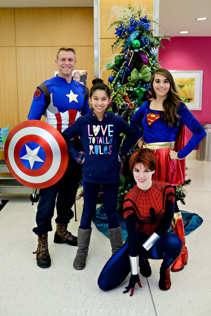 Superhero charity event 2016 at Children's Healthcare of Atlanta. Photography by Chelsea Patricia. www.chelseapatricia.com