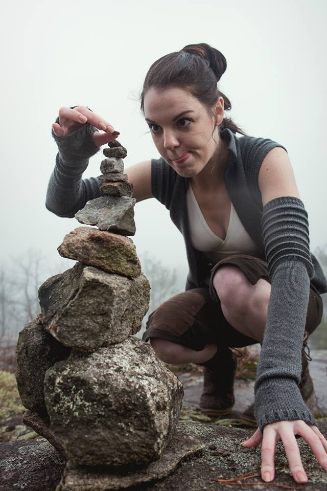 Rey derp by The Lady Nerd. Photographed by FotoMike