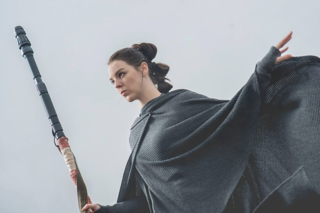 Rey Cosplay by The Lady Nerd. Photographed by FotoMike.