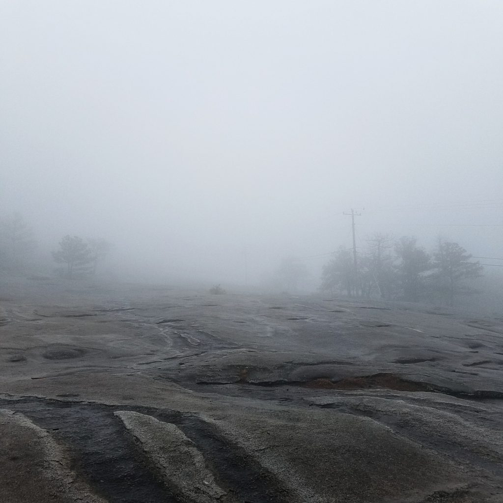 Stone Mountain Fog