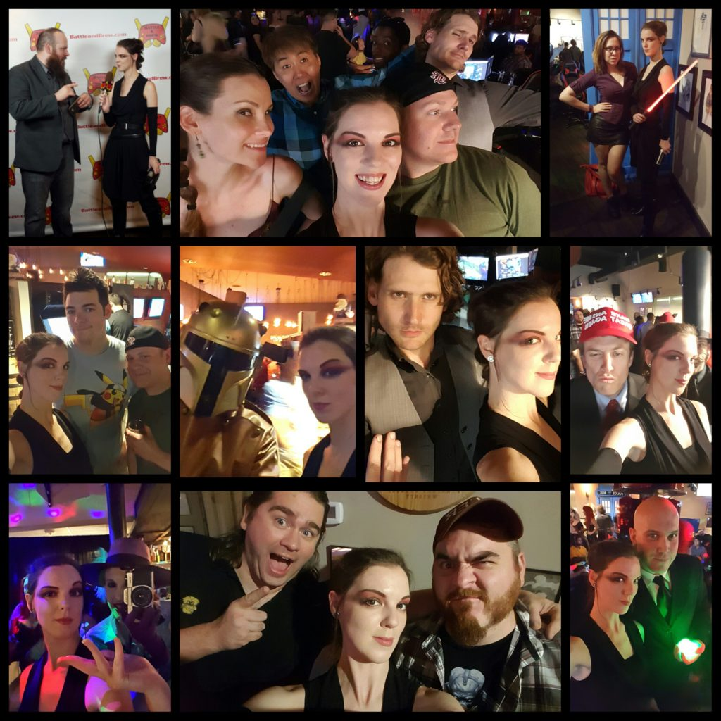 Villains Cosplay Night at Battle and Brew in Atlanta, GA