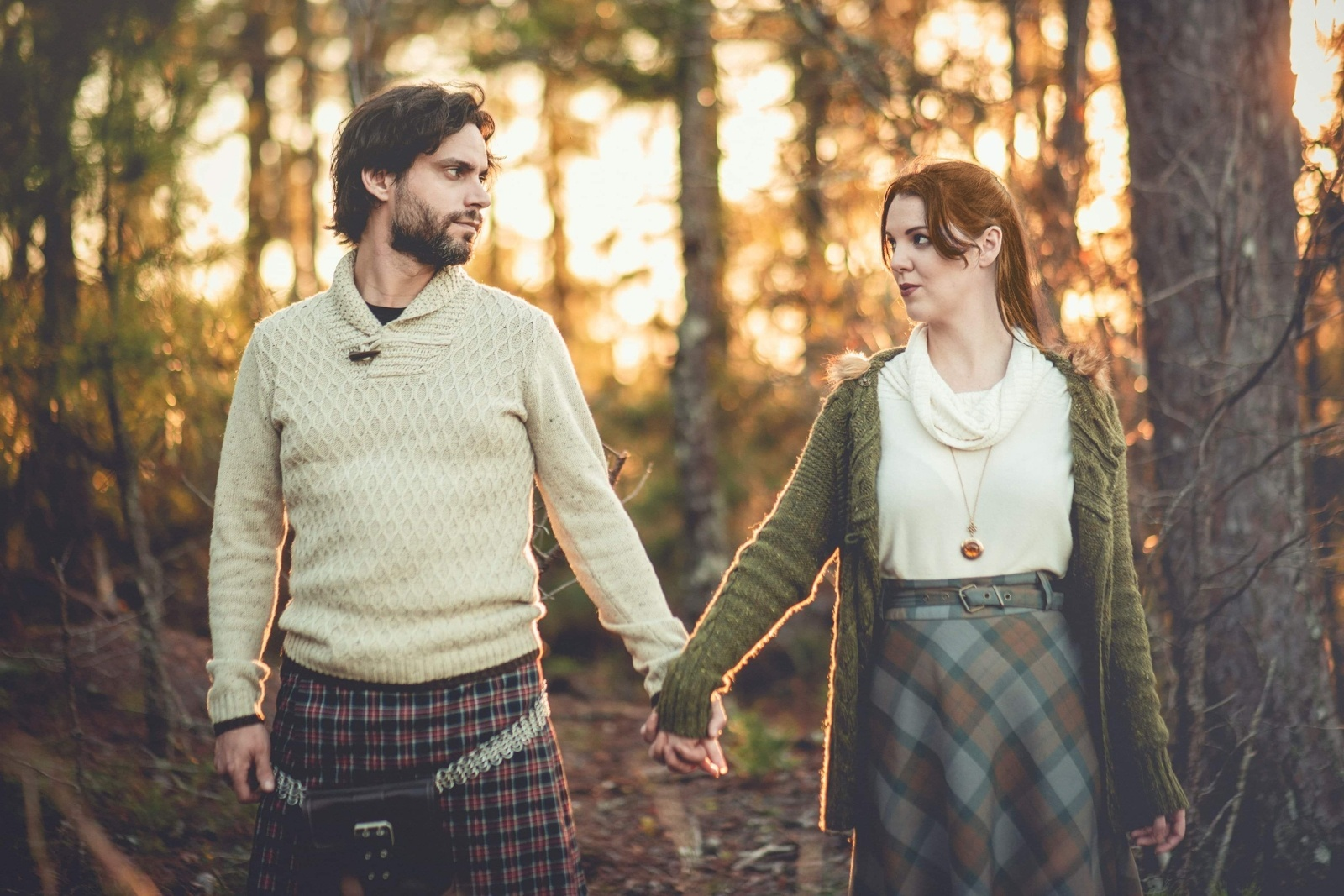 Outlander Engagement Roger and Brianna. Photographer - Foto Mike. Models - The Lady Nerd and Ian
